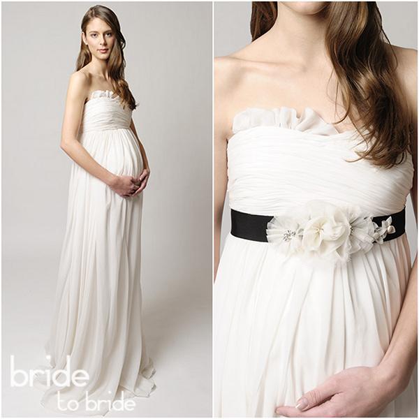 Сшить свадебное платье для беременной своими руками 55