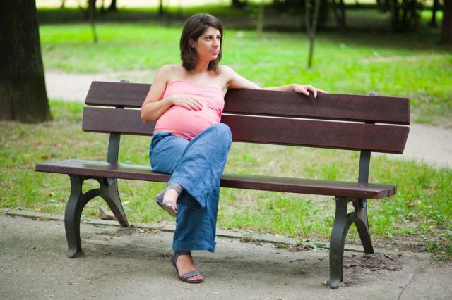 Беременная и одинокая