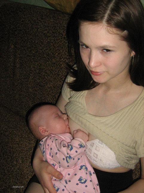Фото дочки грудь моей